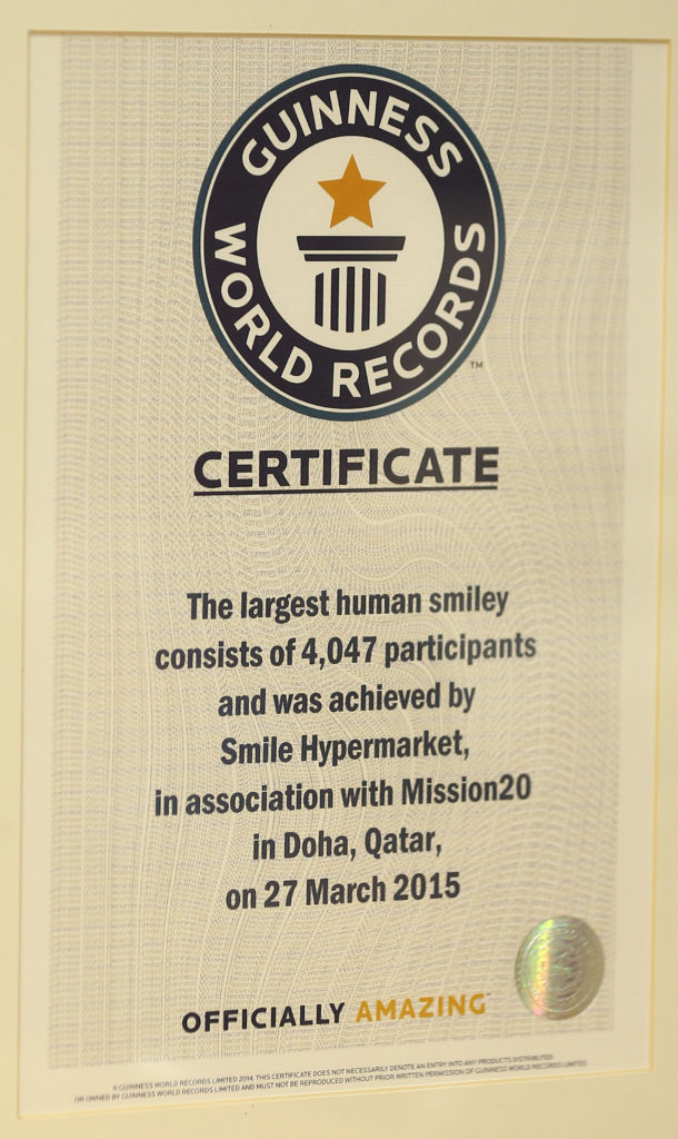 Second Guinness World Record